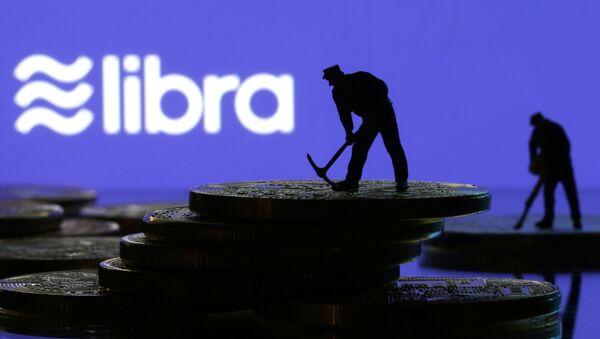 Logo di Libra, nuova criptovaluta di Facebook - Sputnik Italia