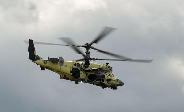 Un elicottero Ka-52 in volo - Sputnik Italia