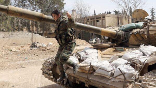 Soldato siriano - Sputnik Italia