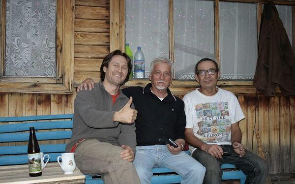 Stefano Medvedich ospite a casa di amici russi - Sputnik Italia
