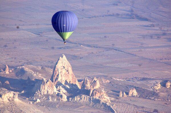 La Cappadocia, la regione storica dell'Asia, situata in Turchia.  - Sputnik Italia