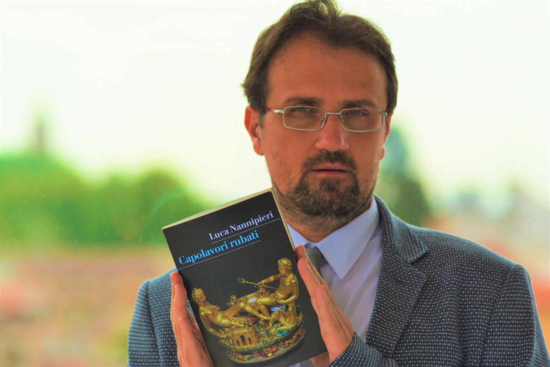 """Luca Nannipieri, storico dell'arte, autore del saggio """"Capolavori rubati""""  - Sputnik Italia, 1920, 06.10.2021"""