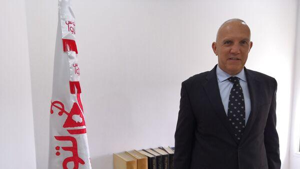 Mustapha Saheb-Ettabaa. Il segretario generale del partito «Agissons pour la Tunisie» - Sputnik Italia