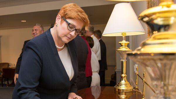 Australia's Minister for Defense Marise Payne at the Pentagon in Washington, D.C., Sept. 20, 2017.  - Sputnik Italia