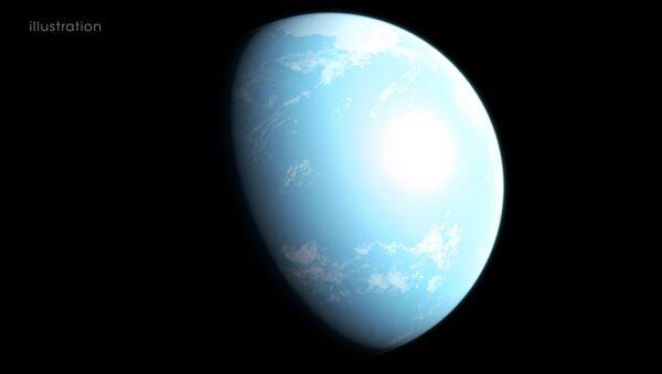 Raffigurazione artistica del pianeta GJ357d  - Sputnik Italia