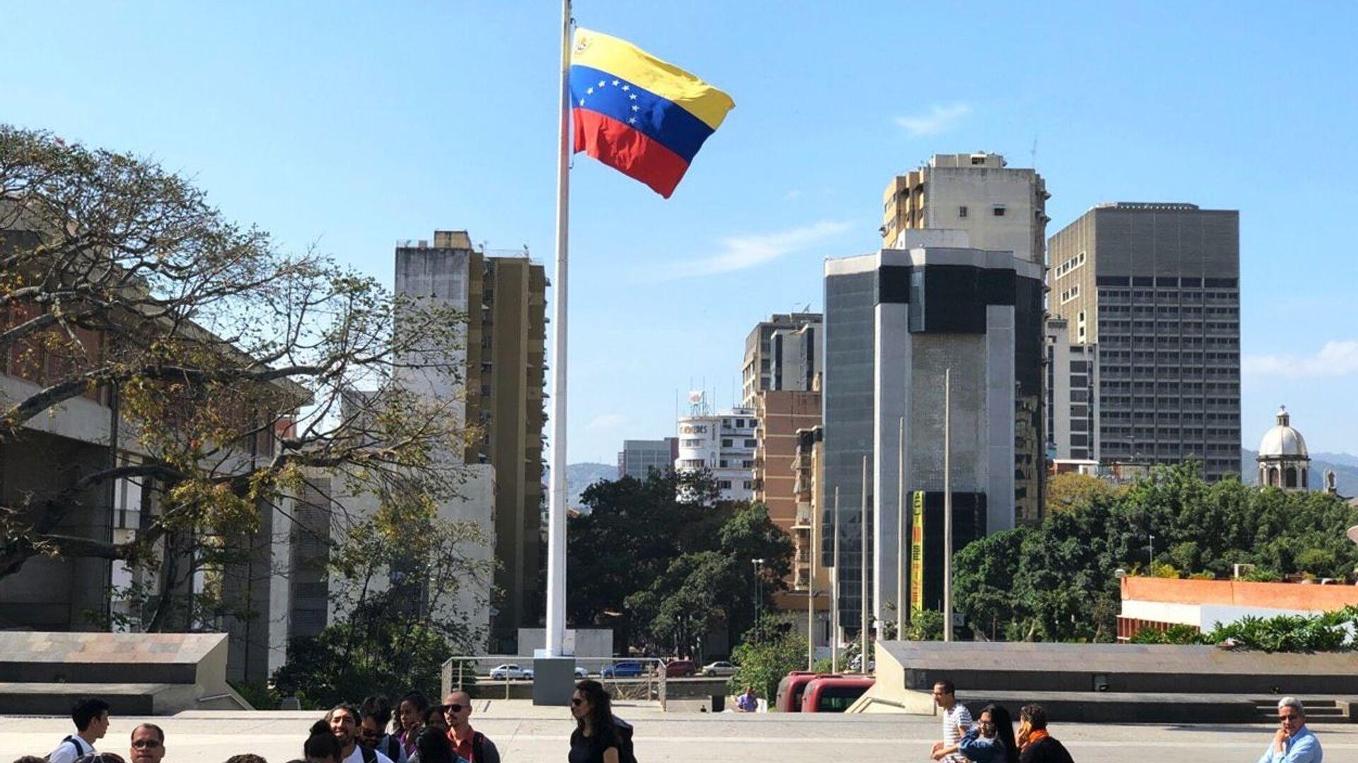 La bandiera del Venezuela, Caracas - Sputnik Italia, 1920, 24.02.2021