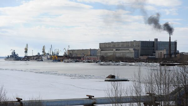 Il porto di Severodvinsk - Sputnik Italia