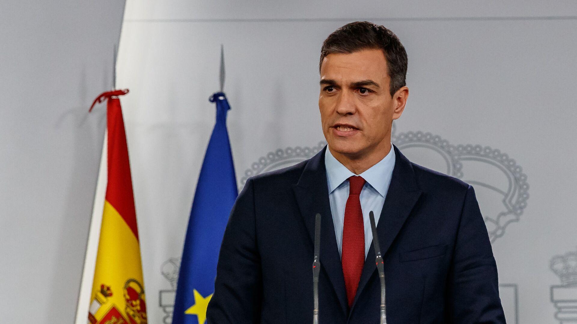 Premier ad interim spagnolo Pedro Sanchez - Sputnik Italia, 1920, 08.07.2021
