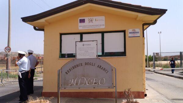 Il centro governativo di accoglienza richiedenti asilo, il Cara di Mineo - Sputnik Italia