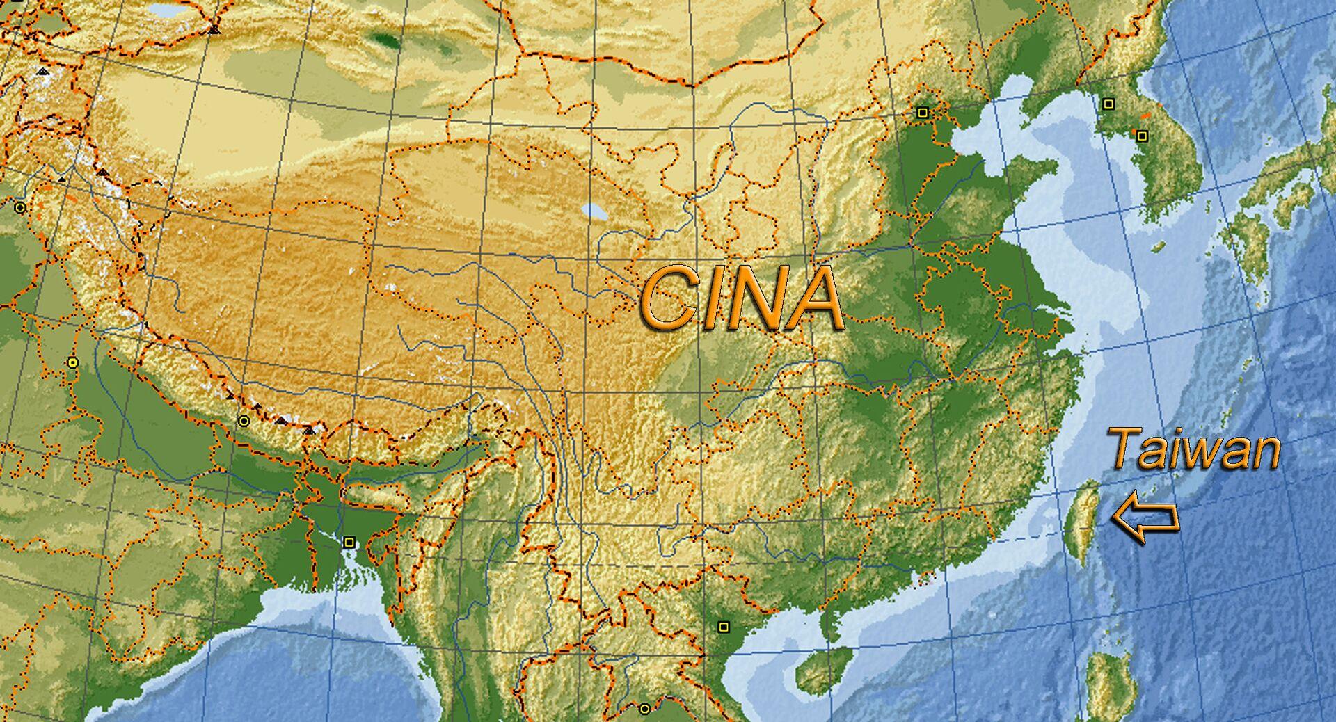Taiwan, posizione sulla mappa - Sputnik Italia, 1920, 14.10.2021