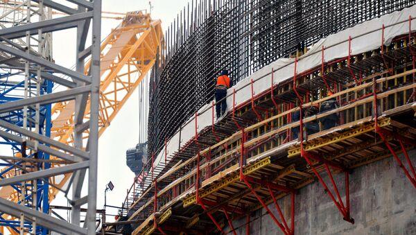 Costruzione della nuova centrale nucleare in Bielorussia - Sputnik Italia