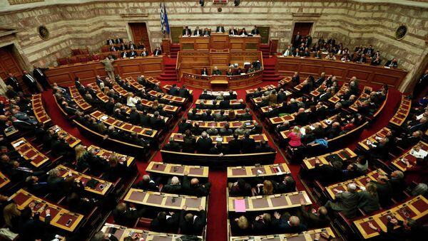A general view of the Greek parliament - Sputnik Italia