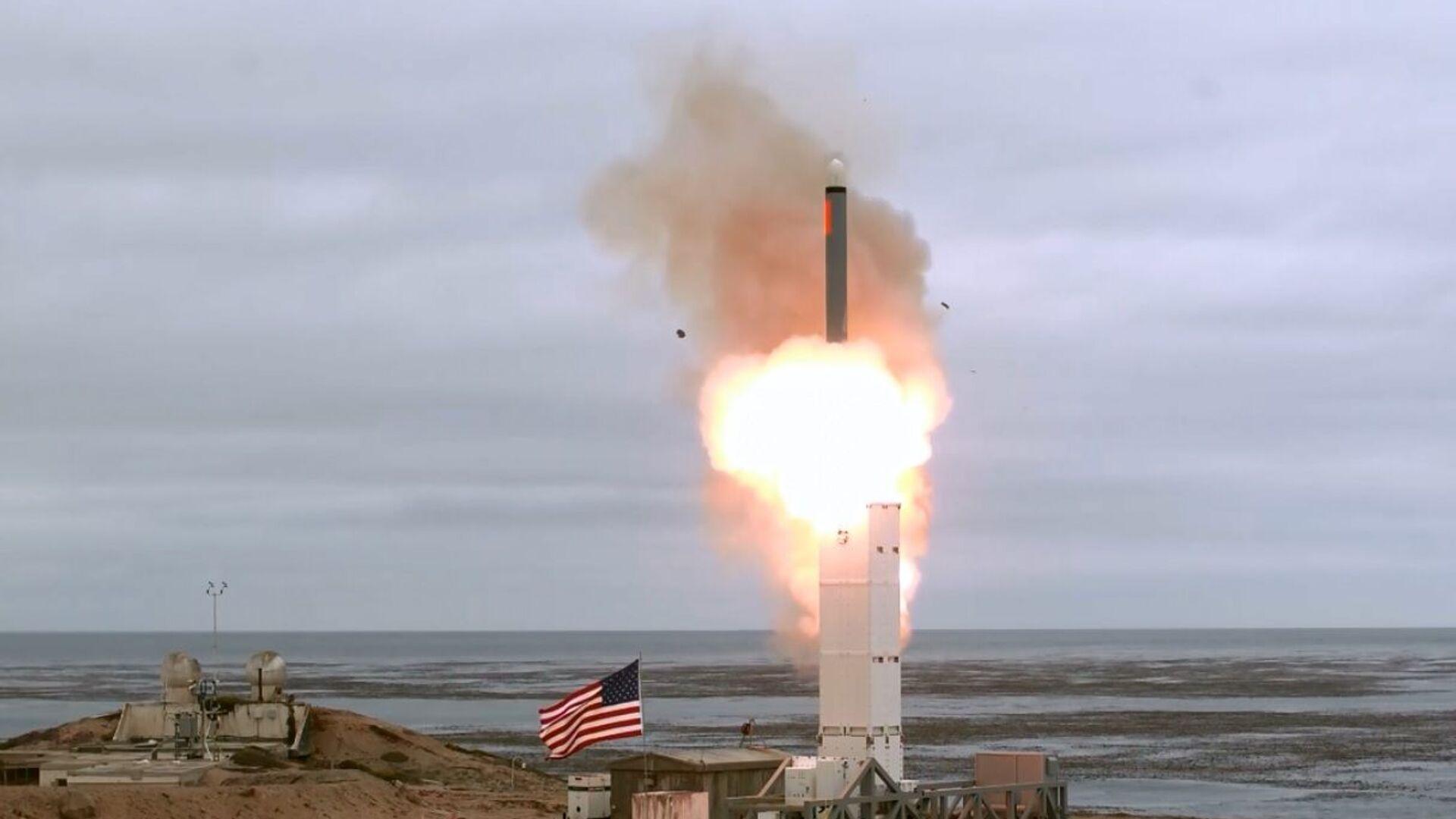 Pentagono lancia un missile prima vietato dal trattato INF - Sputnik Italia, 1920, 27.09.2021