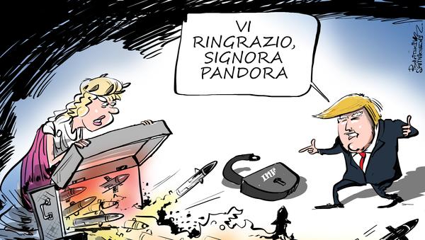 Cremlino reagisce al lancio del missile americano - Sputnik Italia