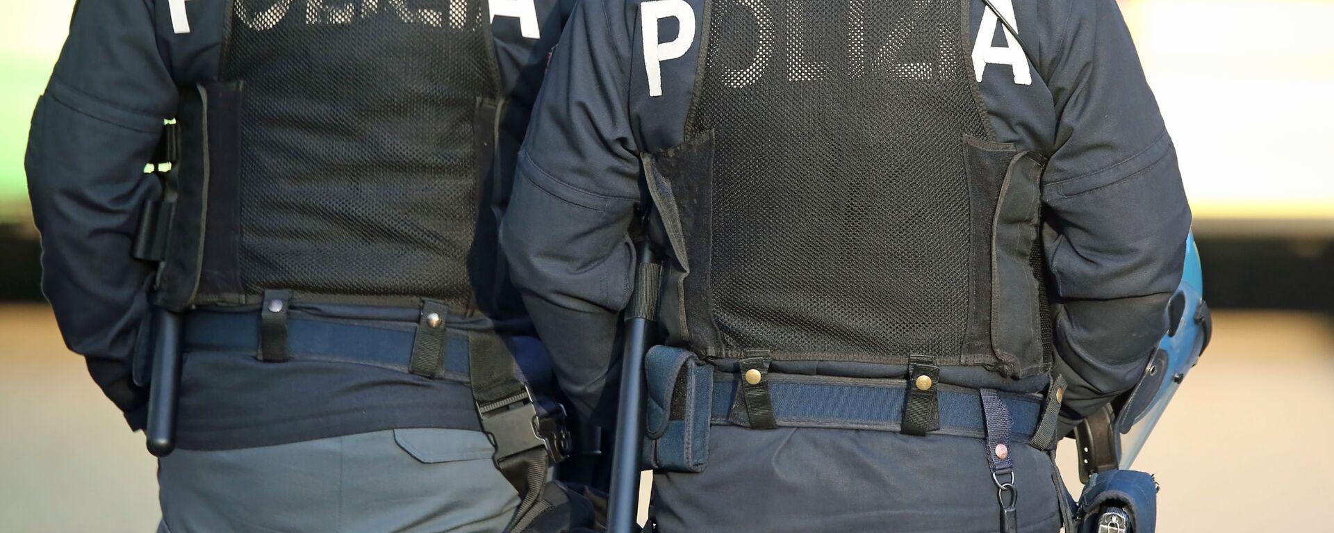 La polizia italiana - Sputnik Italia, 1920, 29.05.2021