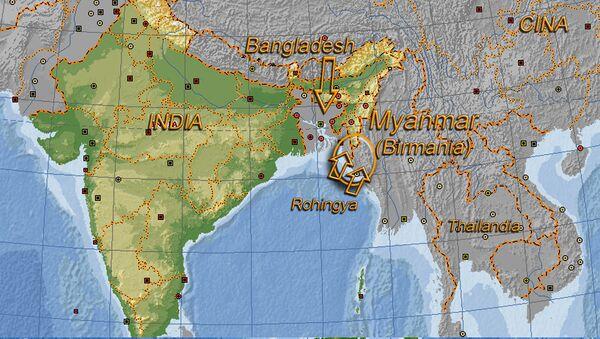 Crisi dei Rohingya - visualizzazione sulla mappa - Sputnik Italia