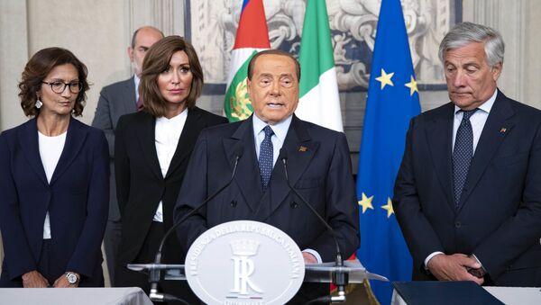 Il partito di Berlusconi in occasione delle consultazioni - Sputnik Italia