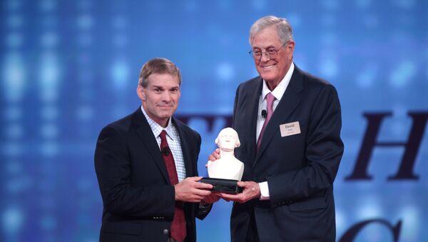 Jim Jordan e David Koch - Sputnik Italia
