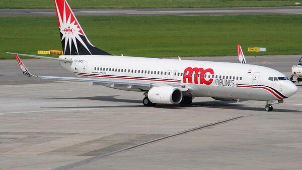 Aereo della compagnia egiziana  AMC Airlines - Sputnik Italia