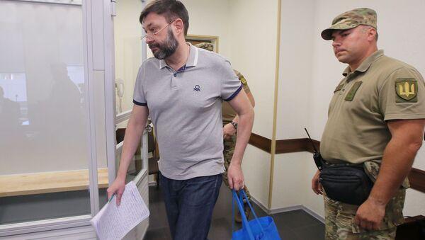 Il tribunale ucraino ha liberato il giornalista russo Kirill Vyshinsky - Sputnik Italia
