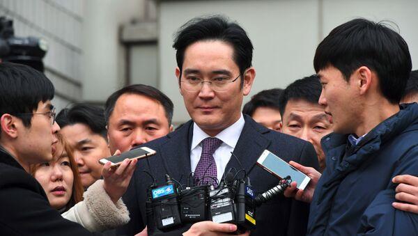 L'erede di Samsung Lee Jae-yong - Sputnik Italia