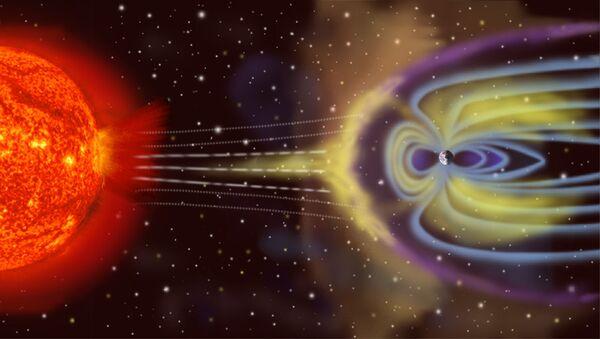 Interazione particelle solari - magnetosfera - Sputnik Italia