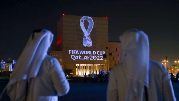 Presentazione logo Mondiali 2022 - Sputnik Italia