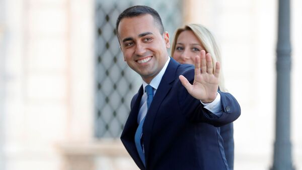 Luigi Di Maio, il ministro degli Esteri del governo Conte bis - Sputnik Italia