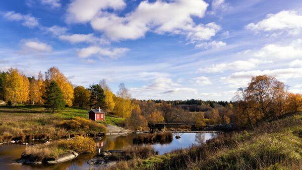 La Finlandia è al primo posto per i viaggi naturalistici. Guardate che vista! - Sputnik Italia