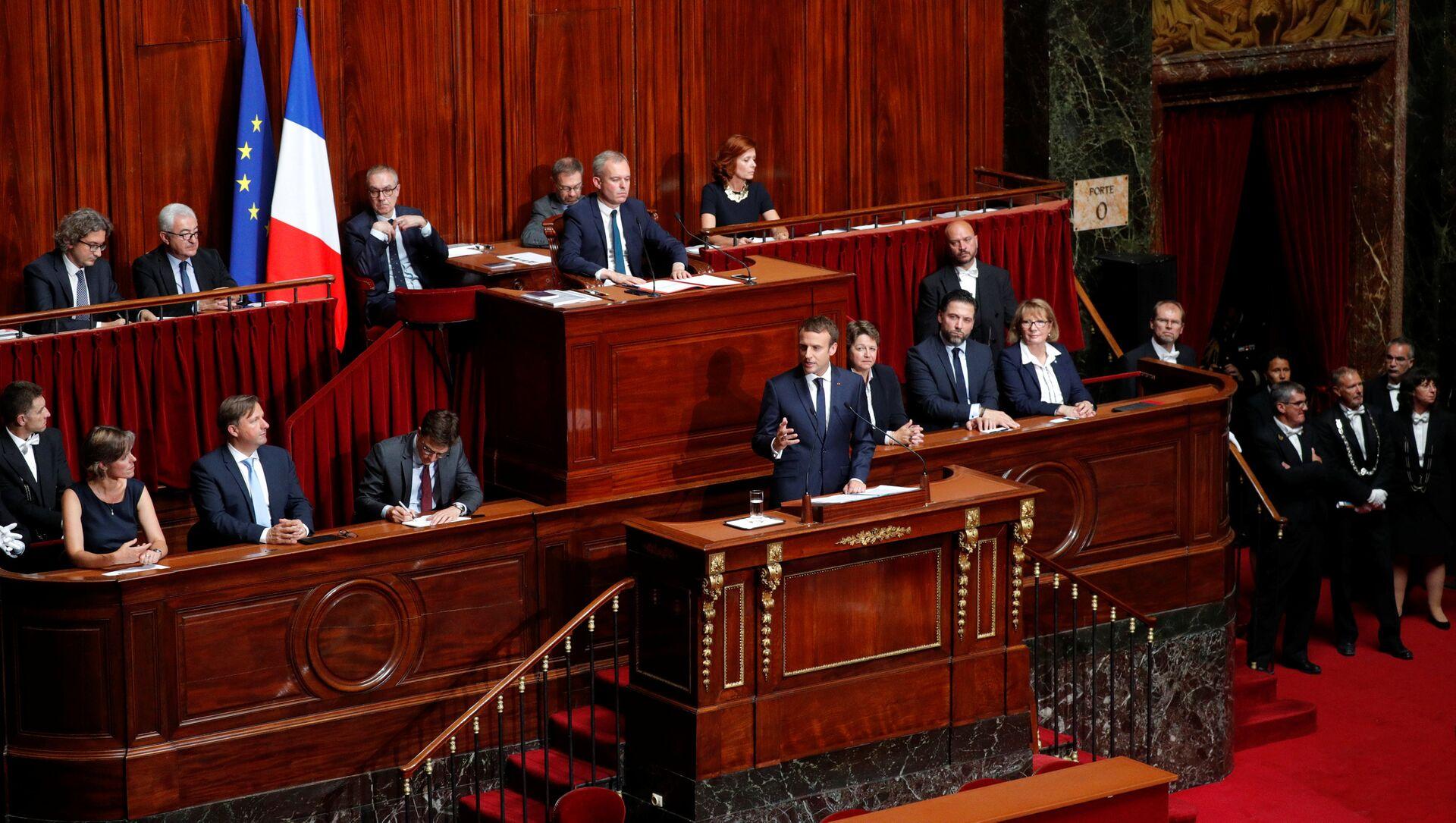 Parlamento francese - Sputnik Italia, 1920, 16.04.2021
