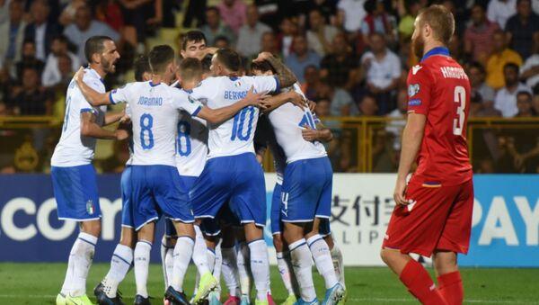 La partita Armenia-Italia - Sputnik Italia