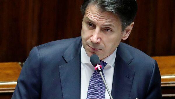 Il presidente del Consiglio Giuseppe Conte ha presentato alla Camera il programma dell'esecutivo giallorosso, il 9 settembre del 2019 - Sputnik Italia