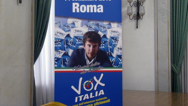 Nascita partito Vox Italia - Sputnik Italia