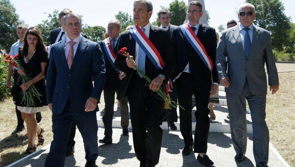 Delegazione francese in visita a Sebastopoli, Crimea - Sputnik Italia