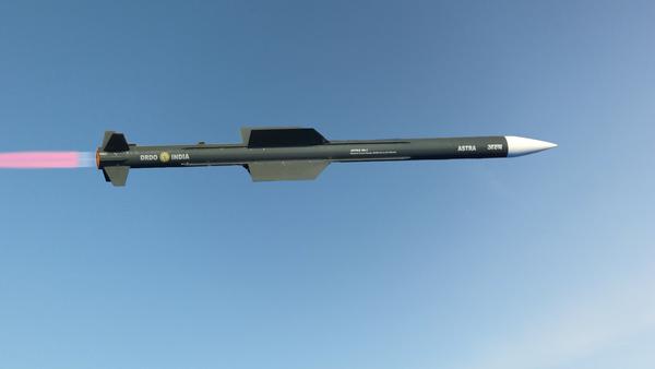 Missile aria-aria Astra Mk-I - Sputnik Italia