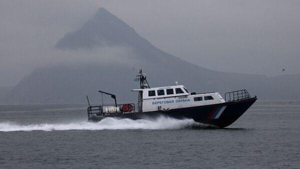 Motovedetta della guardia costiera russa - Sputnik Italia