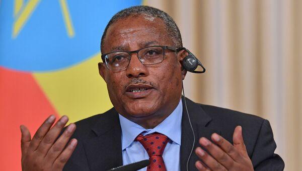 Il ministro etiope degli Esteri Gedu Andargachew - Sputnik Italia