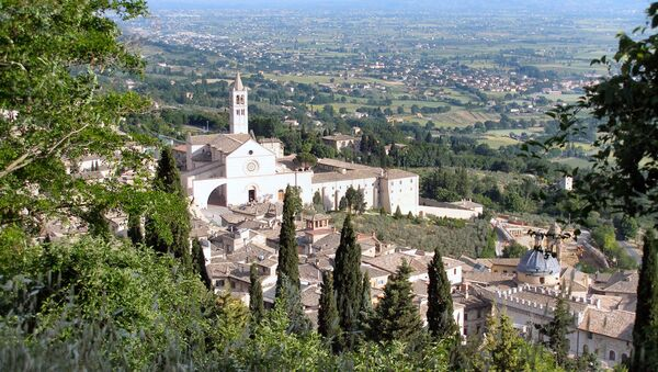 Assisi, Italia - Sputnik Italia