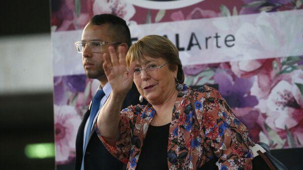 Michelle Bachelet - Sputnik Italia