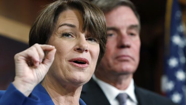 Il senatore americano Amy Klobuchar - Sputnik Italia