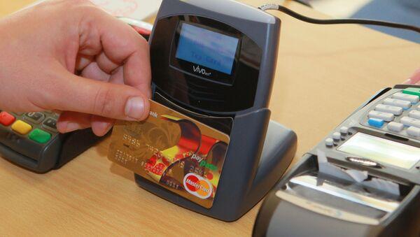 Un pagamento con il sistema paypass - Sputnik Italia