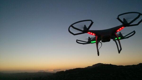 Drone al tramonto - Sputnik Italia