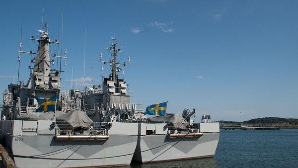 Ships at Berga navy base, Sweden - Sputnik Italia