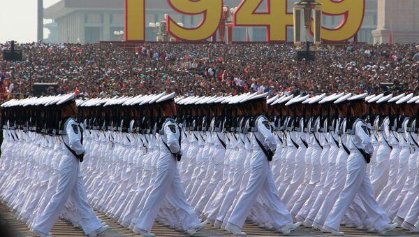 Военный парад, приуроченный к 70-летию образования Китая, в Пекине - Sputnik Italia