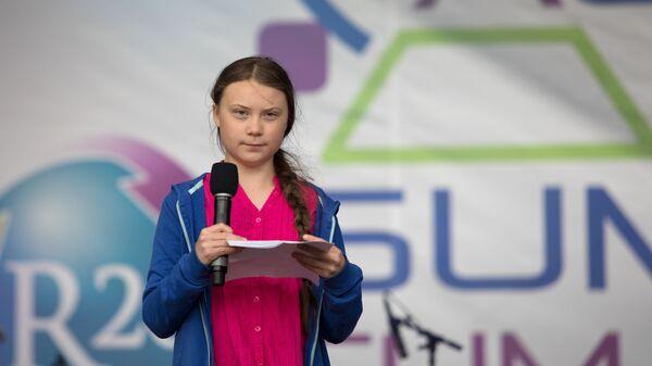 Greta Thunberg parla al Summit sul clima a Vienna - Sputnik Italia