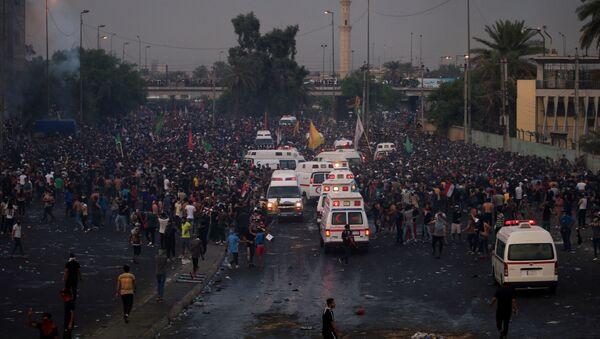 Manifestazioni Iraq - Sputnik Italia