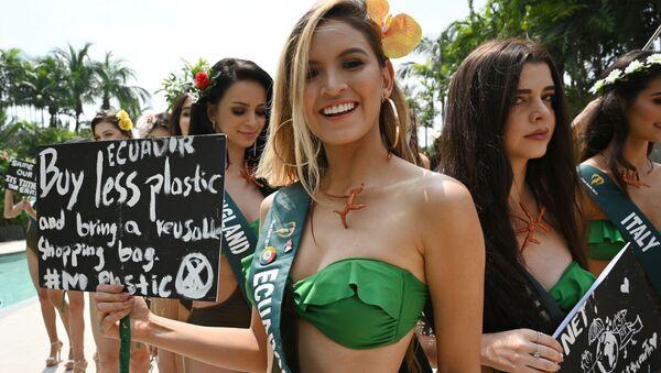 Una candidata di Miss Earth 2019  - Sputnik Italia