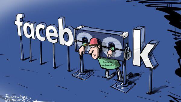 Libertà di parola secondo Facebook - Sputnik Italia