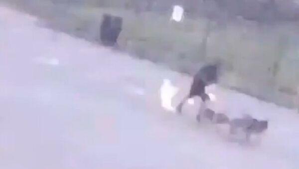 Uomo coplito da un fulmine a Houston - Sputnik Italia