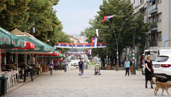 Il centro di Kosovska Mitrovica - Sputnik Italia